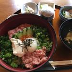 米屋 - ネギトロ丼(1100円)
