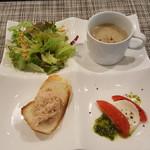 BBJ - 前菜4種