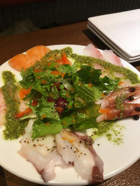 イタリアン大衆酒場HARUTA 練馬店 - 海鮮カルパッチョ