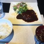 鉄板 松阪屋 - ランチセット!