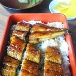 魚信 - 鰻重と肝吸い