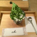 マールブランシュ カフェ - お濃茶クッキー ¥530-