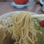 ラーメン旺 - 麺