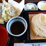 稲庭うどん 瀧さわ家 - 天ぷらと冷の稲庭うどん