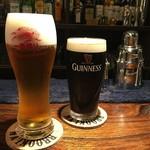 BAR官兵衛 - 生ビールはキリン一番搾りPremium
