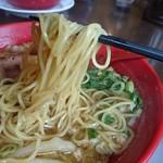 ラーメンまこと屋 - 玉子麺 (鶏醤ラーメン)
