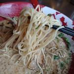 57584887 - 細麺 (牛醤ラーメン)