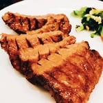 57598993 - 牛タン定食!!肉厚な牛タンは柔らかくて旨い♡