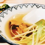 57598997 - テールスープ‼︎香りも味も絶妙な仕上がりで旨い♡