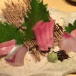旬彩Dining ちゃくら - お刺身盛り合わせ
