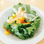 グリーンカフェ - セットのサラダ