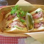 ビンゴ - 和牛ローストビーフサンドイッチ