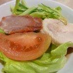 白鳳 新館 - サラダ