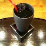 お結びcafe - アイスコーヒー