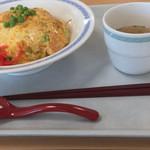 展望レストランサンライズ - 蟹天津飯
