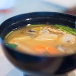 大寿司 - 鰯(いはし)摘入汁(つみいれじる)