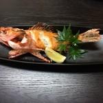 旬鮮魚菜 くじら - 金目鯛塩焼き