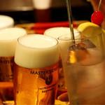 Delicious foods and Bar TATULA - 二次会の乾杯〜♪