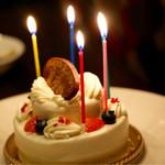 Delicious foods and Bar TATULA - サプライズのバースデーケーキ♪