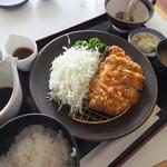 スカイレストラン グリーンズカフェ - さぼてんとんかつ1,250円
