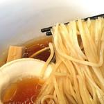 57607752 - 村上朝日製麺の中細麺