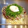 てっぱん - 料理写真:「広島焼き ねぎ温玉」850円税込