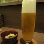 UOK - 生ビール&お通し