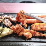 とり焼肉 もう壱鳥 - 料理写真:とり焼肉