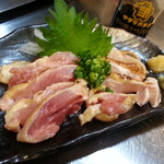 おてちきや - 地鶏の刺身