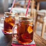 桃の農家カフェ ラペスカ - 桃の紅茶