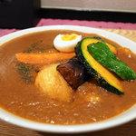 カリーアンドカフェ ガネーシャ - えび&野菜カレー