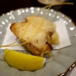 明日香 - (2016/9月)揚物:蛸やわらか煮の天ぷら 松葉素麺