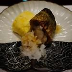 明日香 - (2016/9月)焼物:秋刀魚 出し巻卵 鬼おろし