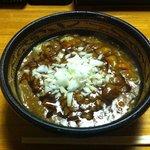 鳳食堂 - ライスinカレーラーメン (750円)