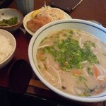 Bungochaya - だんご汁定食 \780