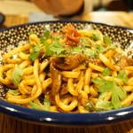 ロットチェント - イカキモのラグー 極太麺(1500円)