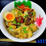吉野鶏めし保存会 - 鶏メシ丼
