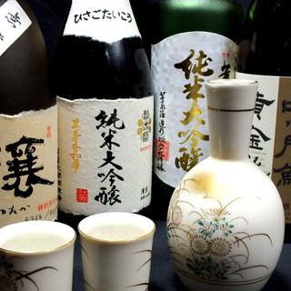 定番から他店ではなかなか呑めない焼酎や日本酒の数々
