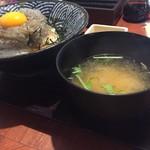57644781 - 生シラス丼850円