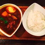 スープカレー屋 鴻 - 黒×チキン×からさ2倍にて!