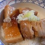 R411 - 豚とろ角煮丼