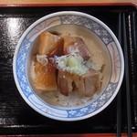 R411 - 豚とろ角煮丼 650円