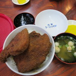 敦賀ヨーロッパ軒 - ソースカツ丼(小)