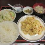 紅龍 - 湖南省特製鷹の爪と玉子炒め 780円