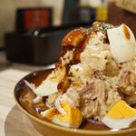 57647186 - カルアポークと半熟たまごのポテトサラダ