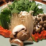 57647245 - 野菜が思いの外ボリューミー。