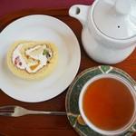 天鏡閣 - 料理写真:ケーキーセット ¥620