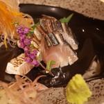 北海道料理 北新地 太田 - 釧路産サバのあぶり