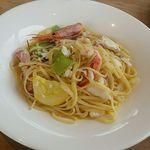 KAN-ICHI - 前浜あがりの旬魚と旬野菜のオイルパスタ
