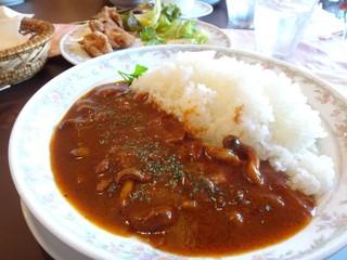 カフェレストラン ぱおむ - ハッシュドビーフ 1,250円